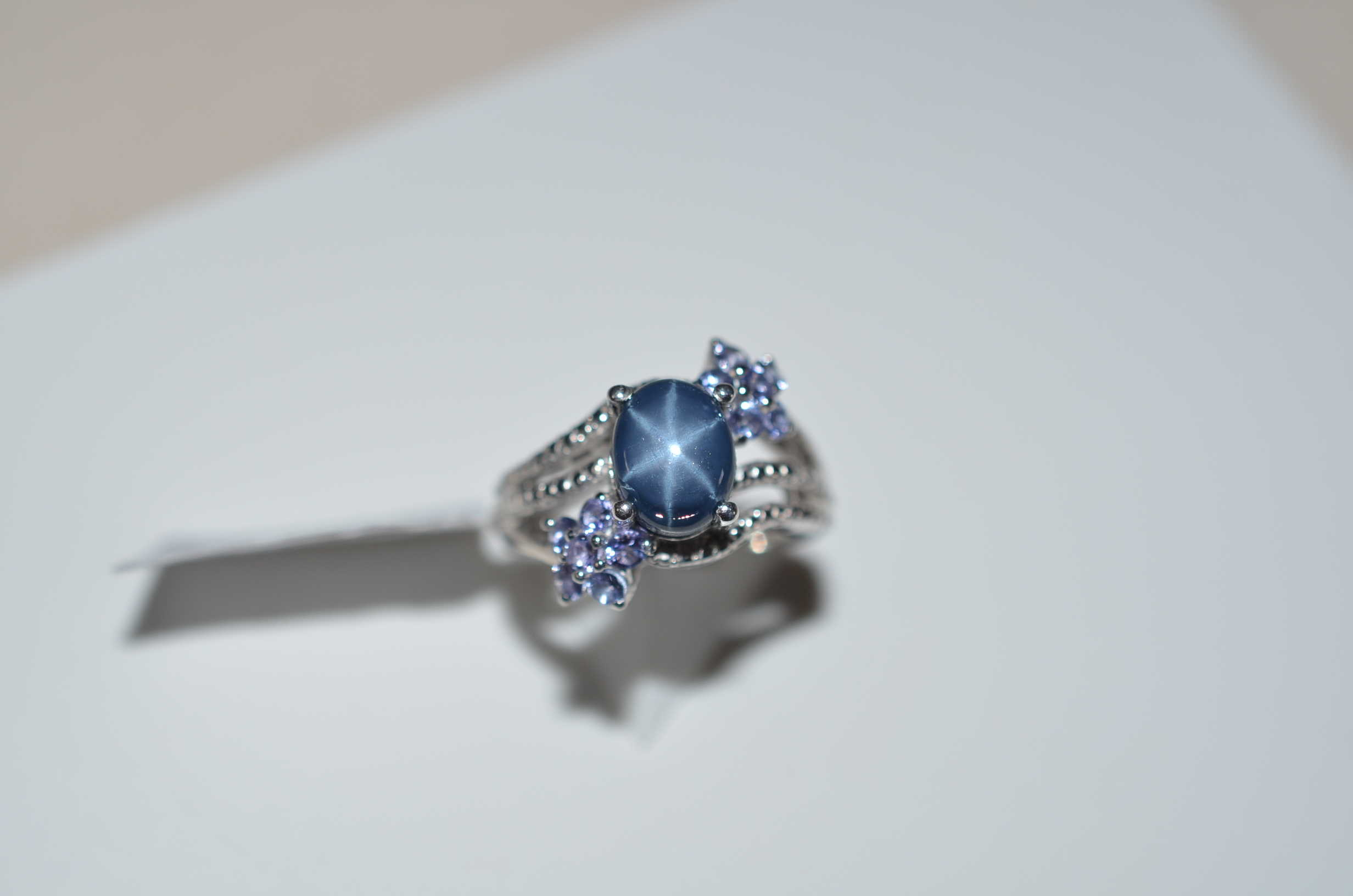 estate engagement rings yellow ring collection gold sapphire fashion diamond and blue