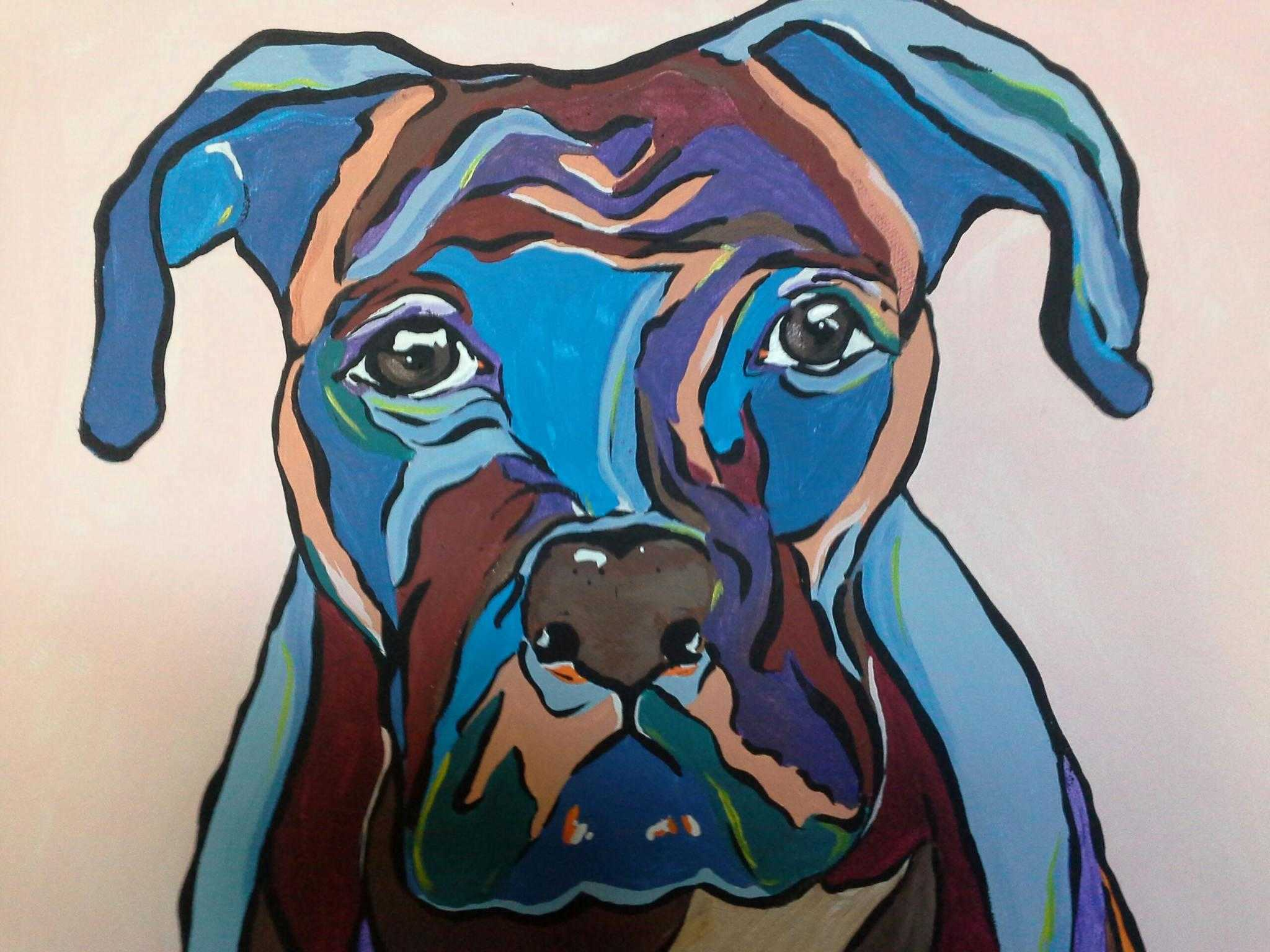 414f4a00df51 Abstract Custom Animal Paintings | A Journey Through Art