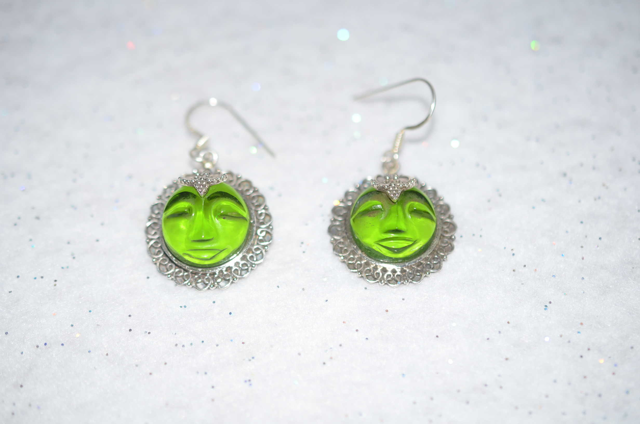 earrings products in gold all yellow peridot collections