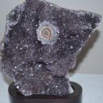 Amethyst Crystal Flower Stand