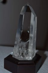 Clear Crystal on base