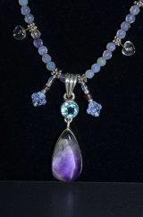 Amethyst and Blue Topaz