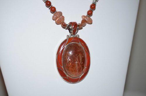 AAA Quality Sunstone Pendant