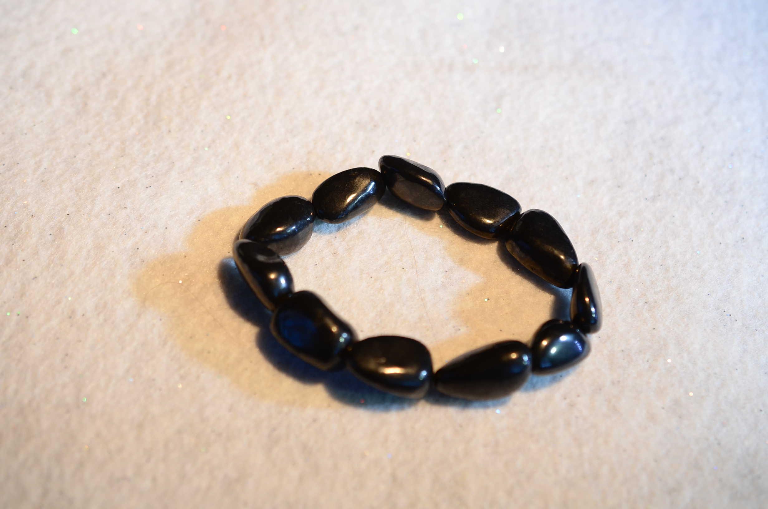 Polished Shungite Bracelet