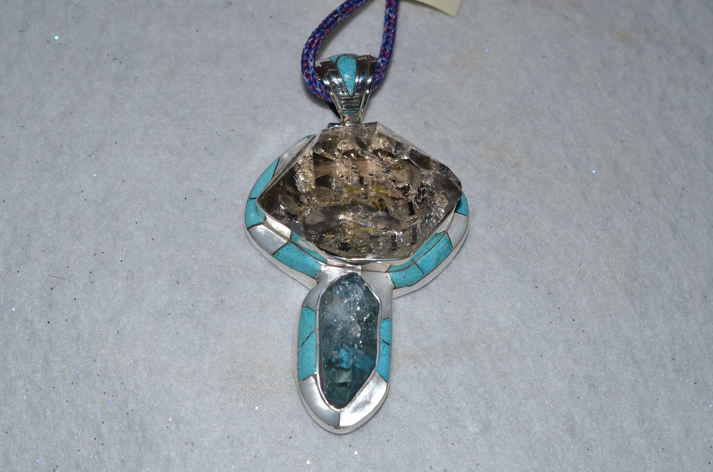 Herkimer and aqua aura quartz a journey through art herkimer and aqua aura quartz aloadofball Images