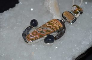 Ocean Jasper Topaz and Kyanite