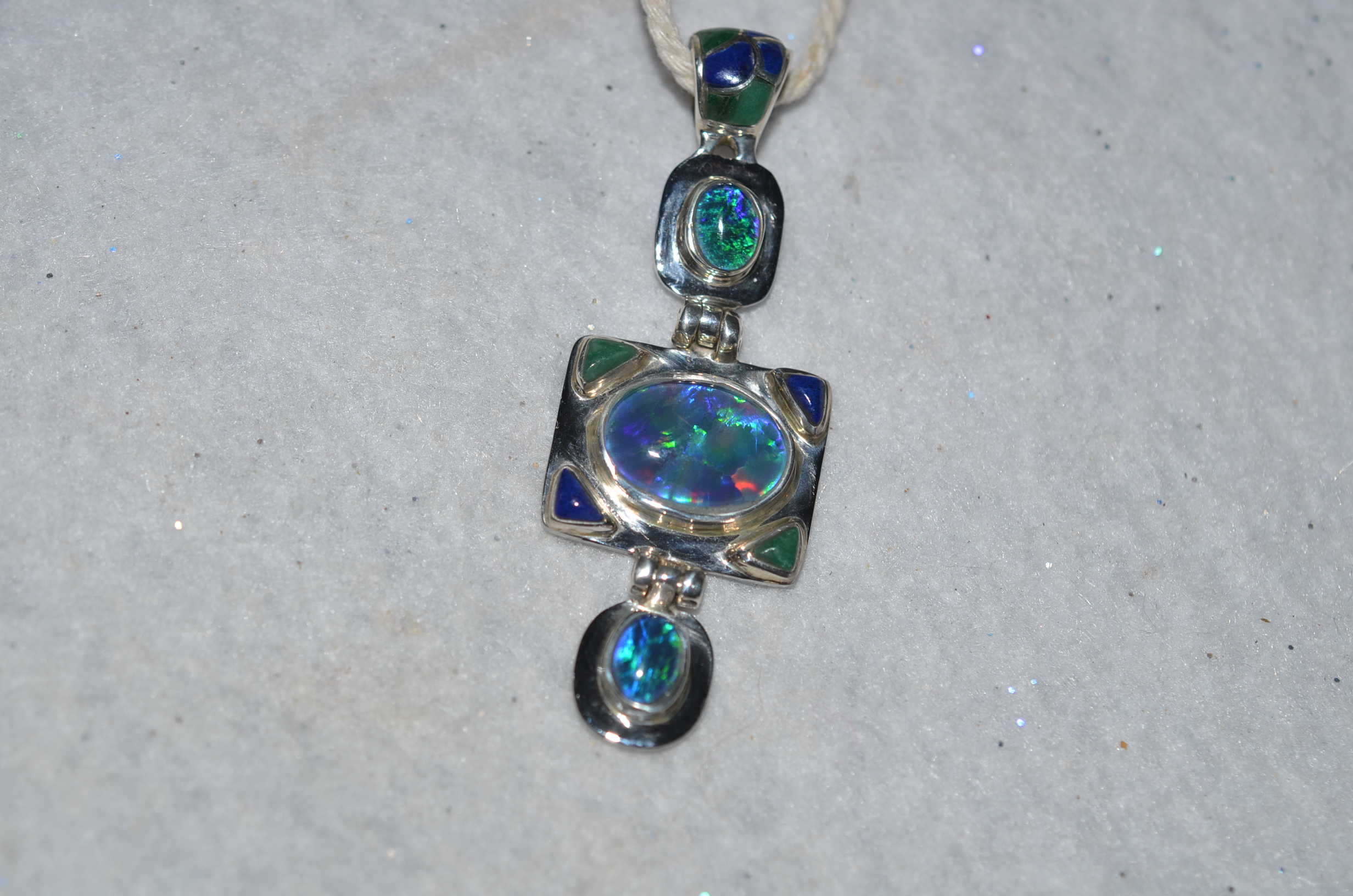 how jewelry auctions opal necklace to learn black choose