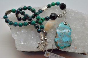 Chrysocolla and Turquoise