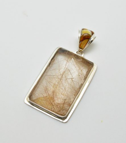 Custom Cut Rutilated Quartz