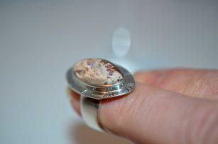 Opal Flash Ring