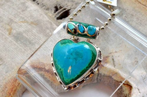 Malachite and Turquoise