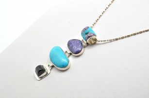 Sleeping Beauty Turquoise and Charoite