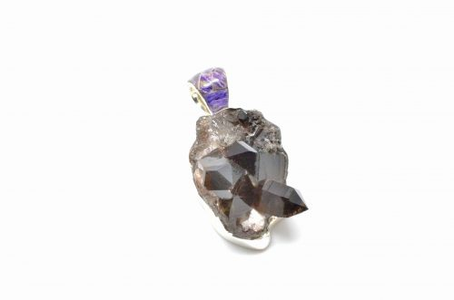 Smoky Quartz Crystal Pendant