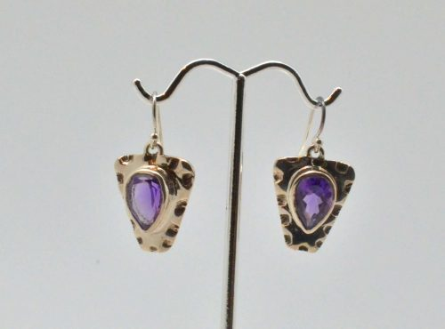 Amethyst Sterling Earrings