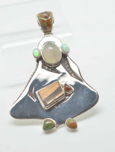 Sterling Silver - Woman with Shard