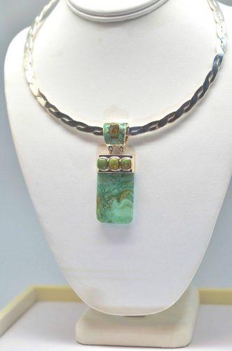 Smithsonite and Turquoise