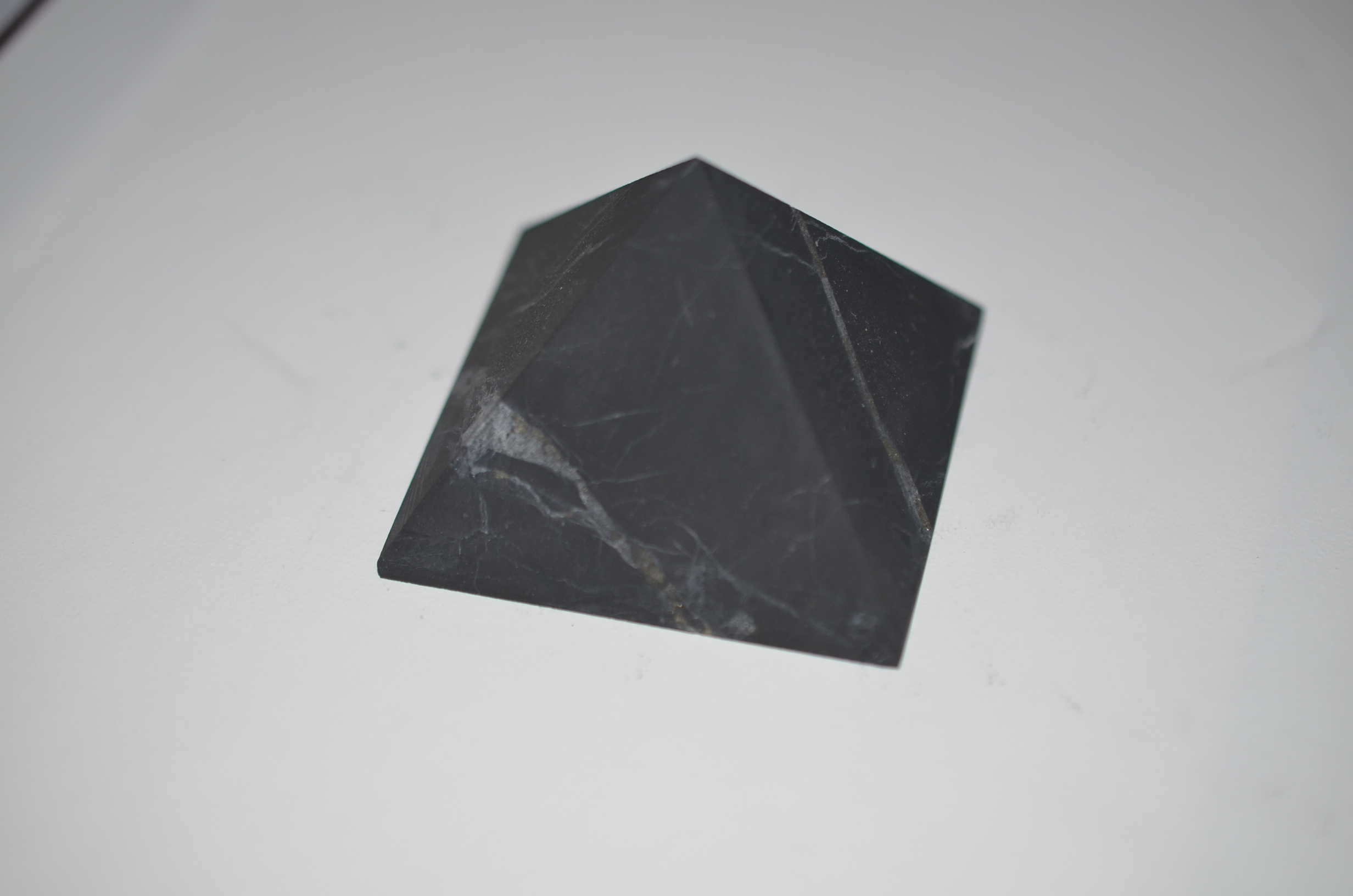 Raw Shungite Pyramid